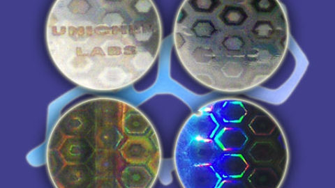 Laser hologrammer & Security Stickers