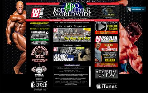 Pro Bodybuilding Worldwide – Radiostasjon for kroppsbyggere