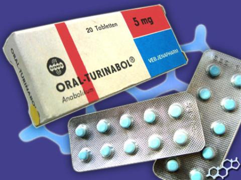 Oral-Turinabol – Chlorodehydrometyltestosteron